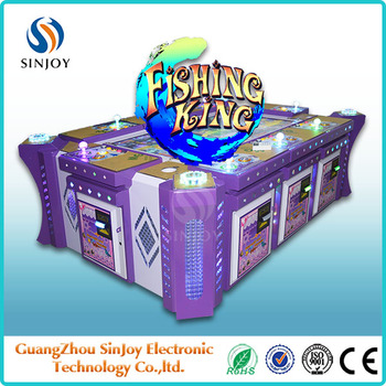 Sinjoy IGS Ocean Monster 2 fishing game 6-8 players fish arcade machine for sale