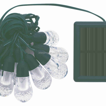 solar led light string for party or Christmas lights Decorative solar light using in garden or trees