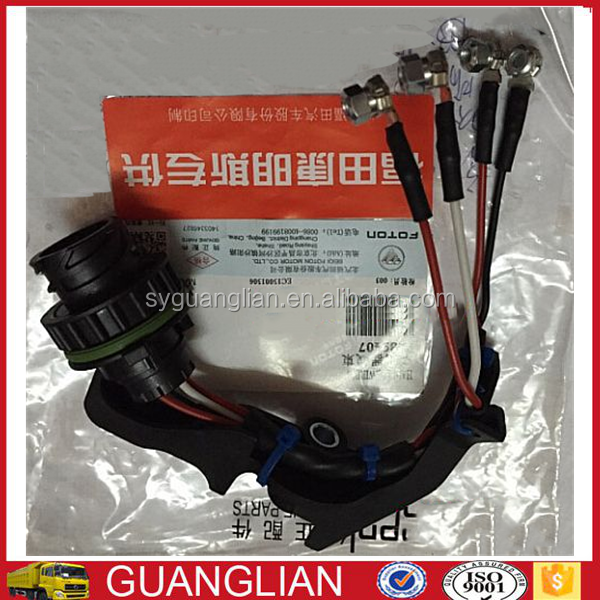ISF2.8 ISF3.8 diesel engine auto parts injector wire harness 5260364 5289407 for Foton truck