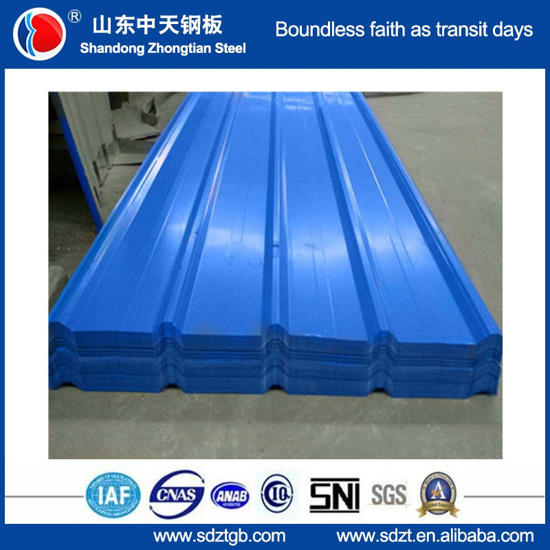 galvalume metal roofing colors coating 1050mm