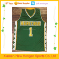basketball jersey uniform design green