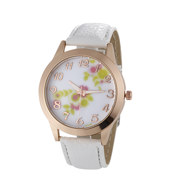 custom cheap rose gold case designer wrist watches for women
