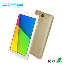 QPS factory Cheap 7 inch android 6.0 3g phone calling tablet with sim card slot