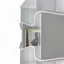 solid surface floating shelf with hidden bracket