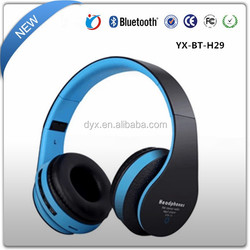 Multi Plain Color With Microphone Wireless AEC Headphone Bluetooth