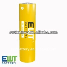LiMno2 3v 1400mAh AA Lithium battery CR14505
