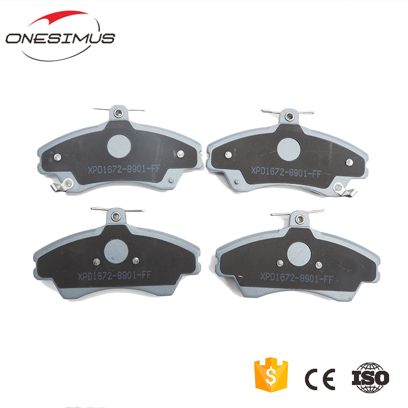 Best manufacturing plant brake system T11 3501080AC No noise Front brake pads