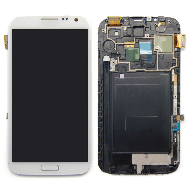 LCD display for samsung galaxy note ii 2 lte gt-n7105 n7105 for samsung note 2 lcd