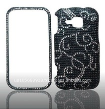 Crystal Bling Snap on Faceplate Cover Case for Samsung Galaxy Indulge-SCH-R910 brand new
