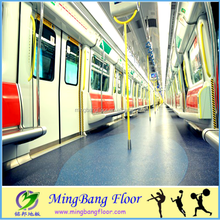Commercial Durable Public Transport Vehicle PVC Flooring Non-slip plastic flooring commercial flooring 2018
