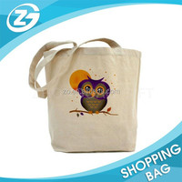 High Quality Beautiful 100% Eco Organic Plain Custom Printed Canvas Tote Bags