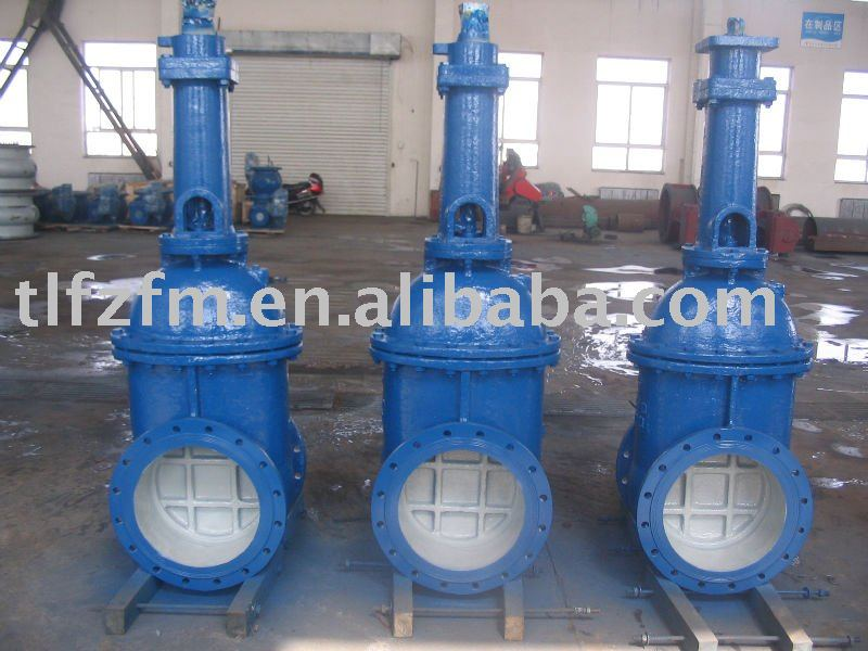 Z941T wedge single disk gate valve/rising stem/electric/DN 100-3200mm/From China