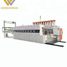 More discount Price High speed Flexo ink Automatic carton box printing machine