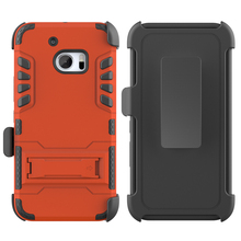 2 in 1 PC+silincone Shockproof Heavy Duty IVI Armor Case For htc one m10 Sliding sleeve