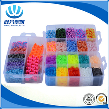 2017 Hot Selling DIY Colourful cheap rainbow rubber bands