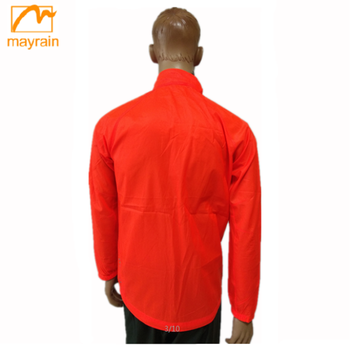 windproof polyester wind coat with hood mens fashion short windbreakers