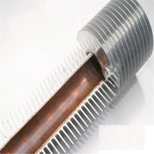 extruded copper fin tube used for chillers