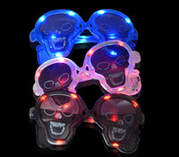flashing party glasses,halloweeen LED light up glasses for kids