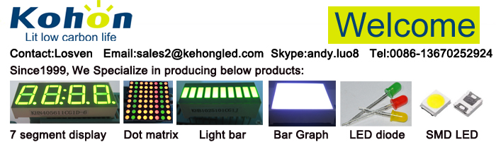 CE & ROHS certified led bar graph display / led light bar