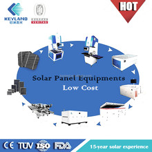 Keyland chinese solar panel manufacturing machine making Turnkey Project