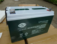 12V100AH AGM solar battery / sealed lead acid / maintenance free