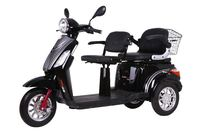 2015 New Popular Two Seat Electric Motorcycle for Disabled with Lithium Battery
