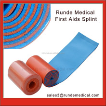 Lightweight portable malleable rolled splint