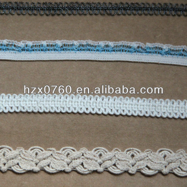 Dobby galloon lace for paper bag making machine