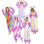 wholesale kids pajamas sexy onesie custom  panda kigurumi flannel unicorn onesie pajamas
