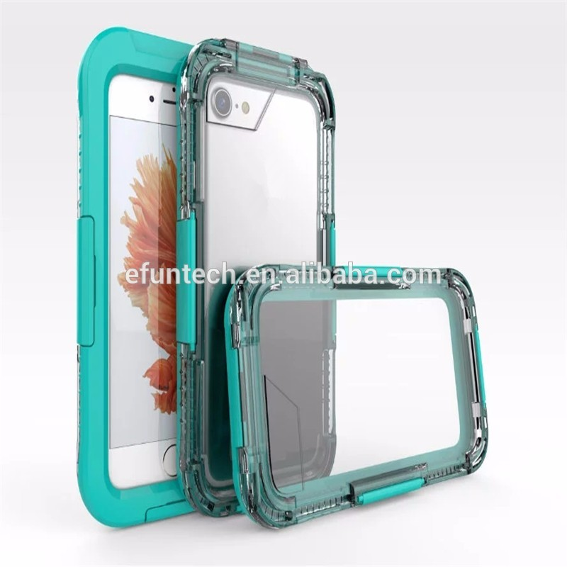 OEM high quality diving use waterproof mobile phone case for iphone 7