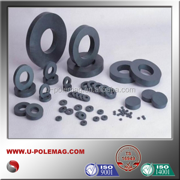 Y25 ferrite magnet and permanent magnets and ring speaker magnets