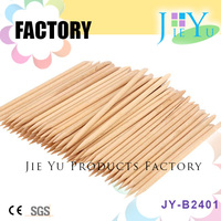 Wood Stick Cuticle Pusher Remover Pedicure Manicure Tool For Nail File