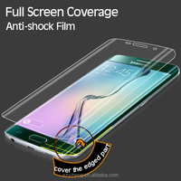 2015 New Product High Clear Full Cover Front and Rear Screen Protective Film for Samsung S6 Edge Screen Protector