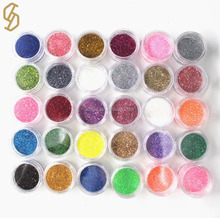 Manufacture Colorful Wholesale Comestc Nail Glitter Powder in Bulk