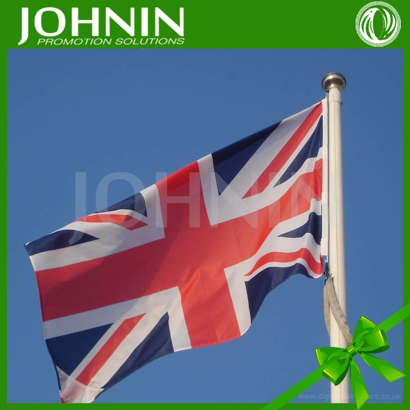 JOHNIN brand fast produce 3*5ft outdoor high quality polyester fabric union jack flag