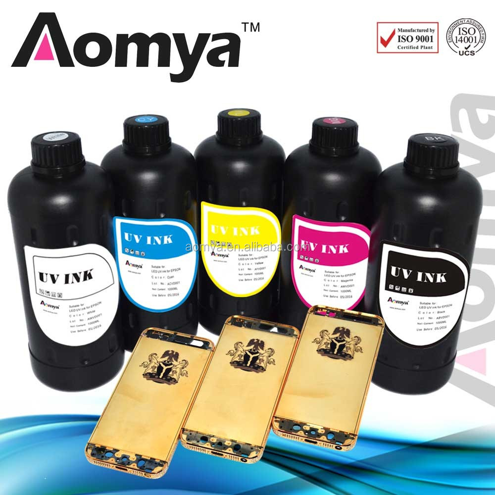LED uv ink for metal/wood/glass printing ink