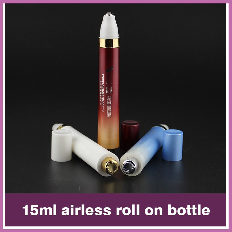 10ml Roll on Refillable Glass Perfume Bottles,glsaa roller ball bottle with plastic caps