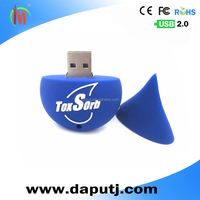 Different color customized shape usb pen drive water drop usb flash drive pvc usb hot sell stick