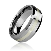Hot selling fine jewelry men's wholesale tungsten carbide ring blank