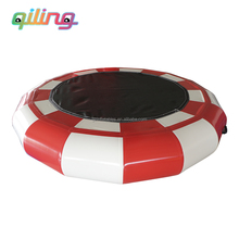 qiling New style water game inflatable sea doo water trampoline exporter