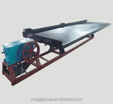 Wet Shaking Tables Separation Gold Ore Separation Equipment