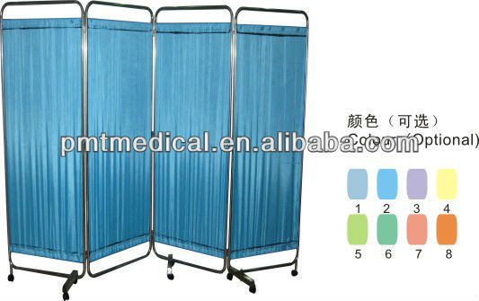 (Three Sections) Used hospital ward screen