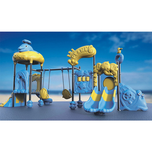 School yard outdoor slide playground equipment kids plastic outdoor climbing toys for sale