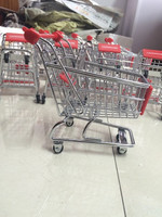 Nice Desktop RH-SX01 Metal Mini Shopping Cart Toy