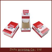 Promotion FOOD industrial display paper box package with east tear line