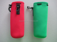500ml bottle capacity Neoprene Water Bottle Holder With Strap