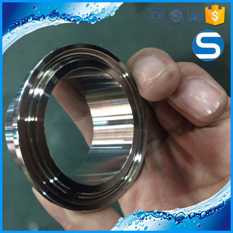 ISO,CE,3A Certification sanitary stainless steel pipe fitting clamp