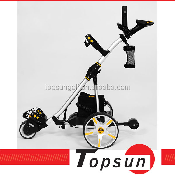 Three Wheels Small Folding Motor Remote Control Golf Buggy