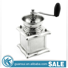 The Best elegant acrylic manual coffee grinder detachable espresso stainless steel hand crank conical burr