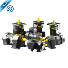 Small Powerful Electric Gear Motors With Reduction Gear